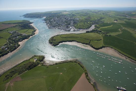 Salcombe, Devon, England, United Kingdom, Europe-Dan Burton-Photographic Print