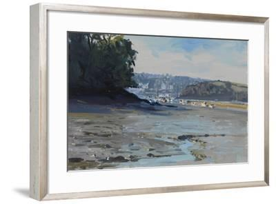 Salcombe down from Southpool Creek, 2011-Peter Brown-Framed Giclee Print
