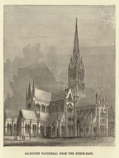 Salisbury Cathedral from the North-East--Giclee Print