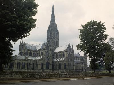 Salisbury Cathedral-David Scherman-Photographic Print