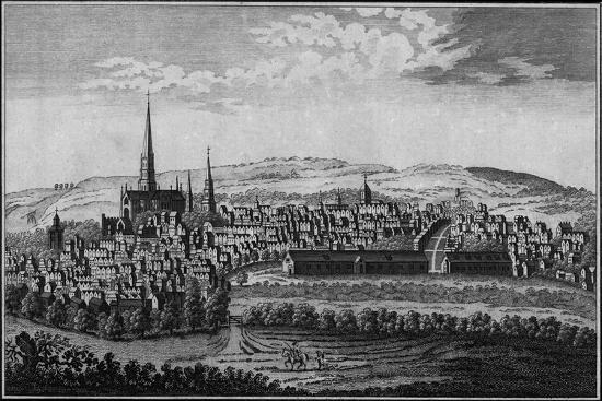 Salisbury, Wiltshire, mid-late 18th century-Unknown-Giclee Print