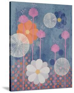 Three Kimonos Center by Sally Bennett Baxley