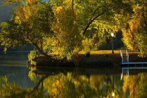 Fall at the Lake by Sally Linden