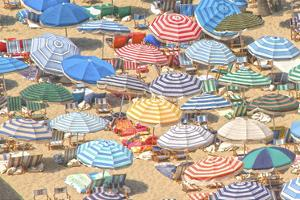 Umbrellas I by Sally Linden