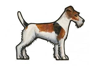 Fox Terrier by Sally Pattrick