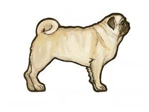 Pug by Sally Pattrick