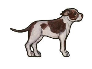 Staffordshire Bull Terrier 2 by Sally Pattrick
