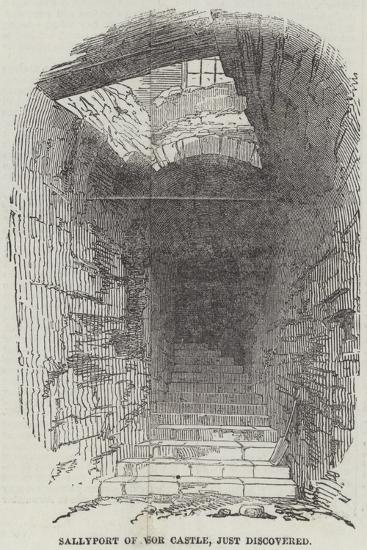 Sallyport of Windsor Castle, Just Discovered--Giclee Print