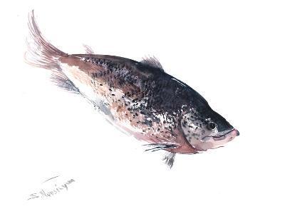 Salmon 2-Suren Nersisyan-Art Print