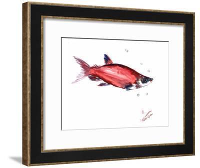 Salmon 3-Suren Nersisyan-Framed Art Print