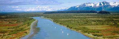 Salmon Fishing Boats at Wrangell-St. Elias National Park, Alaska--Photographic Print