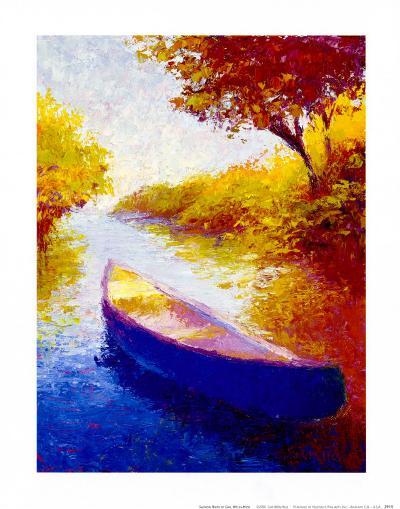 Salmon River-Gail Wells-Hess-Art Print