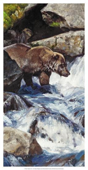 Salmon Zen-Julie Chapman-Art Print