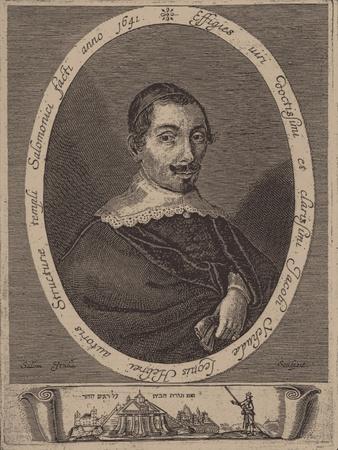 Portrait of Jacob Judah Leon (1602-167)