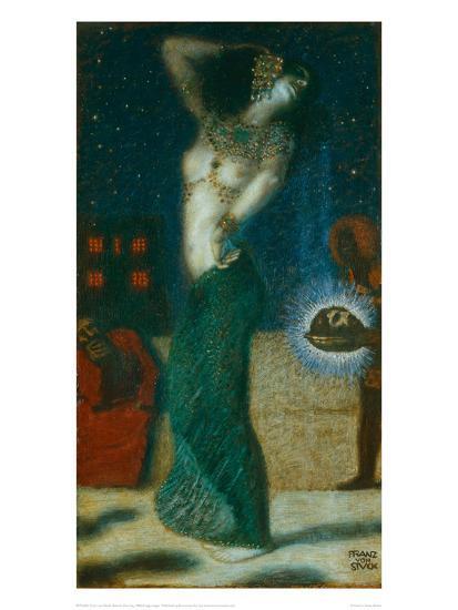 Salome Dancing, 1906-Franz von Stuck-Giclee Print