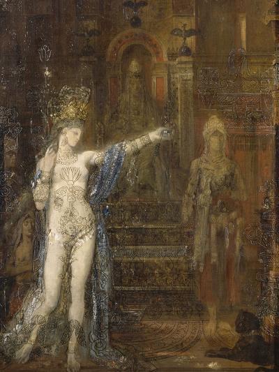 """Salomé dansant dite """"Salomé tatouée""""-Gustave Moreau-Giclee Print"""