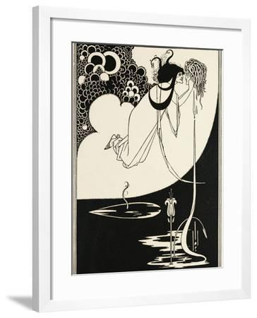 Salome, Illustration by Aubrey Vincent Beardsley--Framed Giclee Print