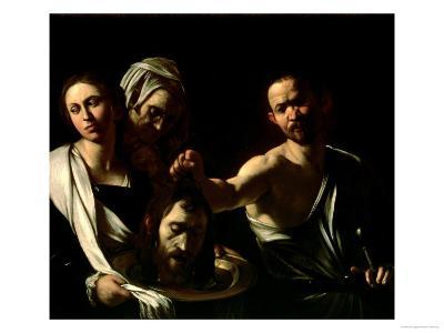 Salome Receives the Head of Saint John the Baptist, 1607-10-Caravaggio-Giclee Print