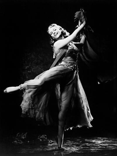 Salome: the Dance of the Seven Veils, 1953--Photographic Print