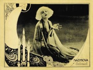 Salome, UK Movie Poster, 1923