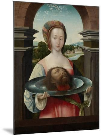 Salome with the Head of John the Baptist, 1524-Jacob Cornelisz van Oostsanen-Mounted Giclee Print
