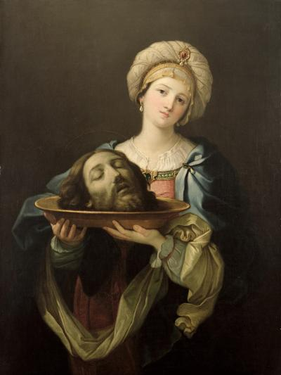 Salome with the Head of St. John the Baptist, after a Painting by Guido Reni (1575-1642), C.1761-Benjamin West-Giclee Print