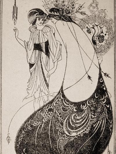 Salome-Aubrey Beardsley-Art Print