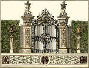 The Grand Garden Gate III by Salomon Kleiner