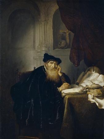 Salomon Koninck / A Philosopher, 1635