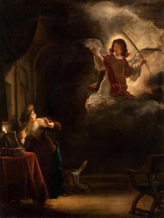The Annunciation, 1655