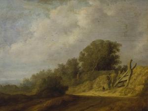 Landscape with a Path by Salomon van Ruysdael