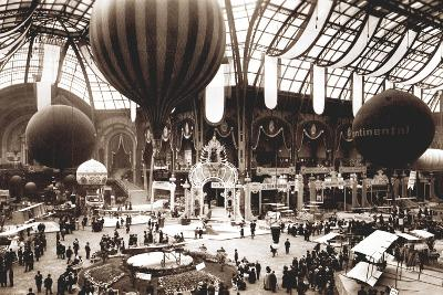 Salon Aeronautique, Grand Palais, 1912-French Photographer-Photographic Print