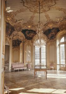 Salon de la Princesse de Soubise (salon ovale). Vue en hauteur
