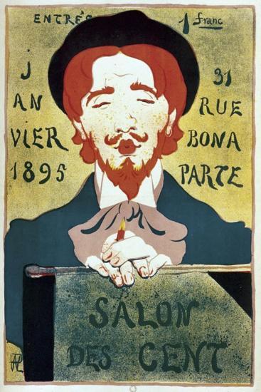 Salon Des Cent Artist-Vintage Apple Collection-Giclee Print