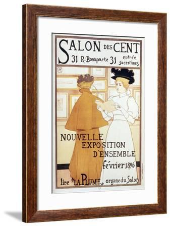 Salon Des Cent Nouvelle Exposition-Vintage Apple Collection-Framed Giclee Print