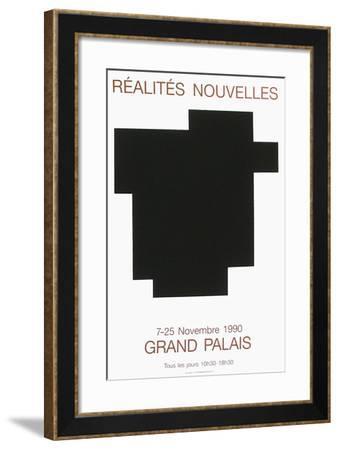 Salon des Réalités Nouvelles-Aurélie Nemours-Framed Collectable Print