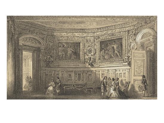 Salon Louis XIII--Giclee Print