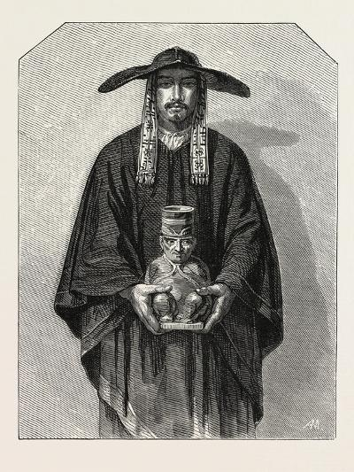 Salon of 1855. Peruvian School. Inhabitants of the Cordillera, 1855--Giclee Print
