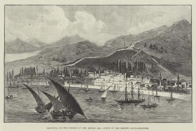 Salonica, on the Shores of the Aegean Sea, Scene of the Recent Conflagration--Giclee Print