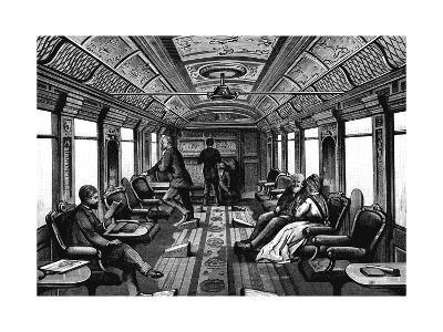 Saloon Car on the Orient Express, C1895--Giclee Print