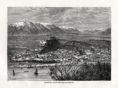 Salsburg, from the Kapuzinerberg, Austria, 19th Century-Taylor-Giclee Print