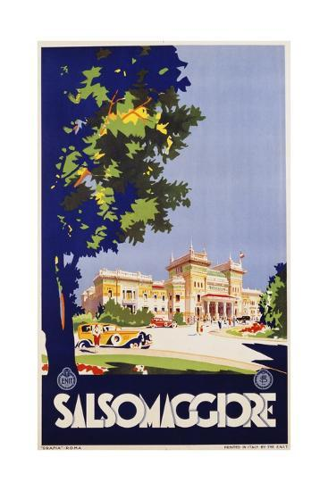 Salsomaggiore Poster--Giclee Print