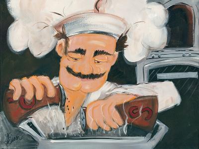 Salt And Pepper Chef-Terri Einer-Art Print