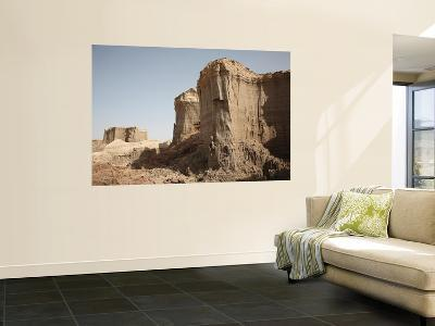 Salt Canyons Made of Layers of Halite and Gypsum, Danakil Depression, Ethiopia-Stocktrek Images-Wall Mural