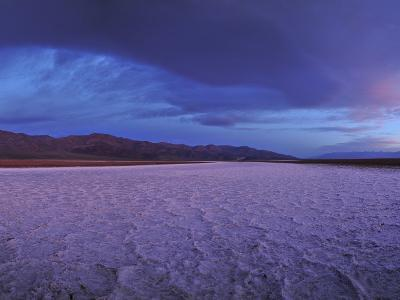 Salt Flats and Polygons on the West Side Road-Raul Touzon-Photographic Print