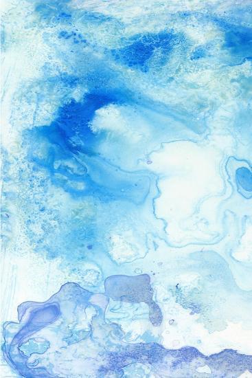 Salt Flats I-Jennifer Goldberger-Art Print