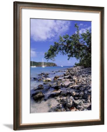 Salt Pond Bay, St. John, USVI-Jim Schwabel-Framed Photographic Print