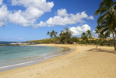 Salt Pond Beach, Park, Hanapepe, Kauai, Hawaii-Douglas Peebles-Photographic Print