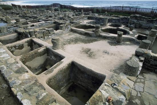 Salt Tanks, Baelo Claudia, Andalusia, Spain. Roman Civilization BC-2nd Century AD--Giclee Print