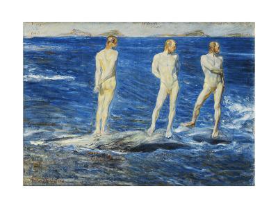 Salt, Wind and Sea, 1906, 1909-Johan Axel Gustav Acke-Giclee Print